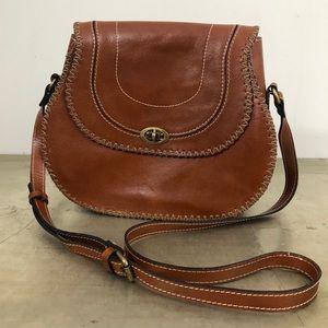 Patricia Nash Arezzo Saddle Bag